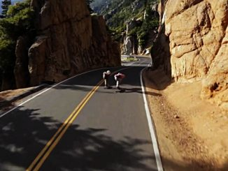 GRADE - Downhill Longboard - Film / Video Still