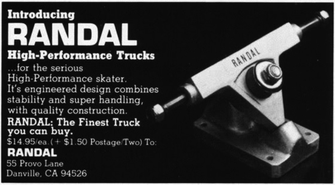 Randal Trucks – Legends never die…
