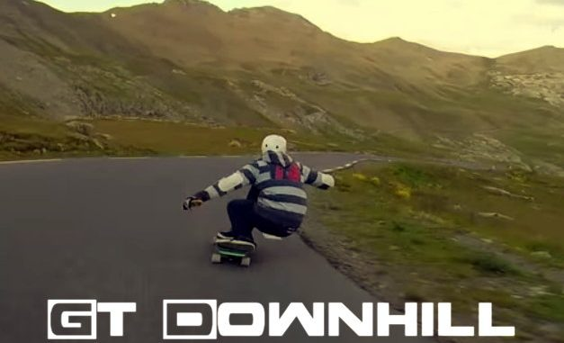 GT Downhill Poster