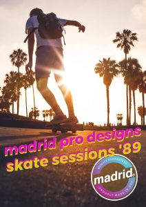 madrid skatebords – Skate Sessions 1989 – Skatefilm – Movie Poster