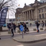 eMotion Demonstration – electro Mobility in Europe – co2 Reduktion – Longboard Berlin News – ScienceFakts & Reality